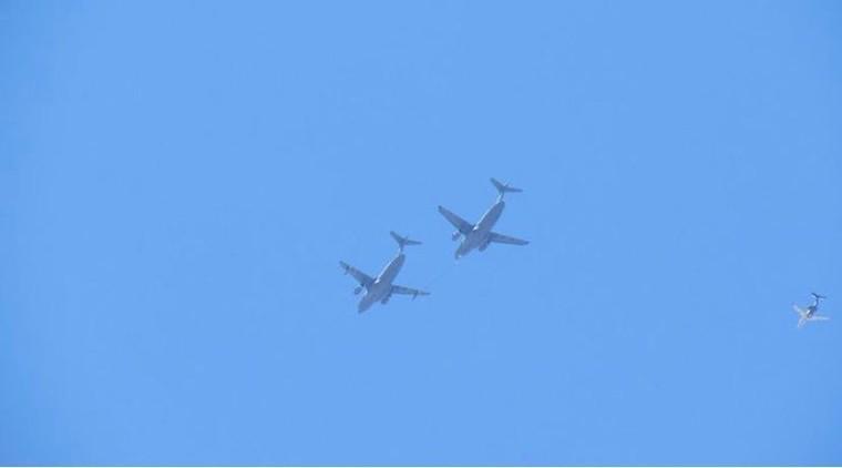 KC-390 em voo