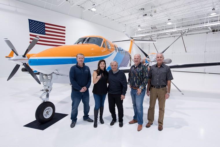 Entrega do primeiro King Air 360