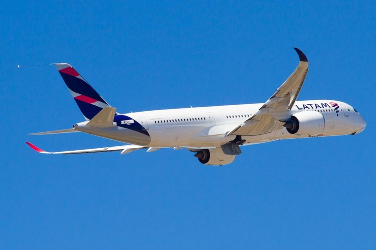 Airbus A350-900 da Latam Airlines