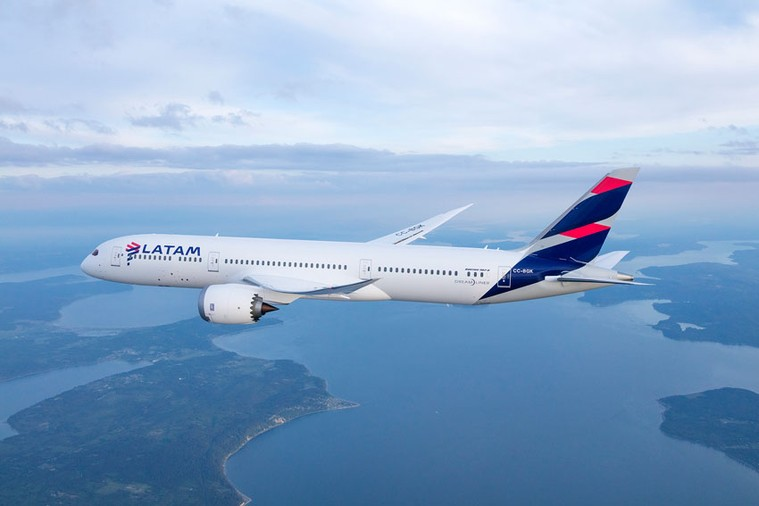 Boeing 787 da Latam Chile