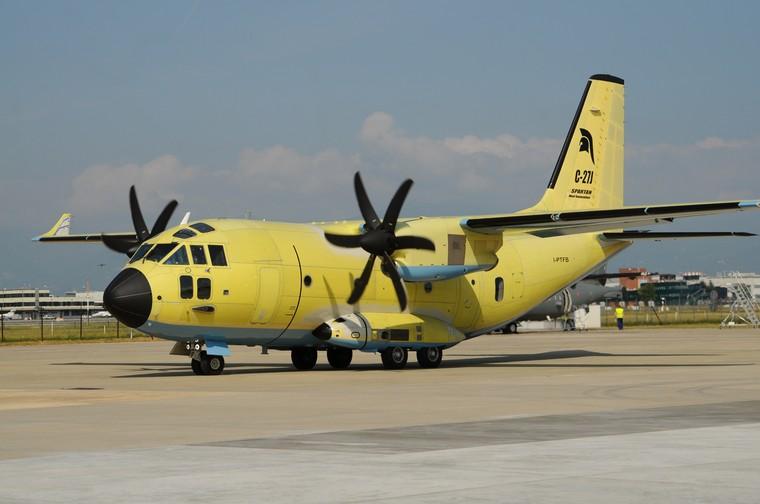 Leonardo C-27J Spartan NG