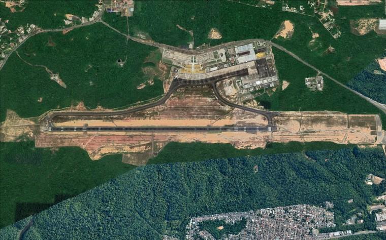 Vista aérea Manaus