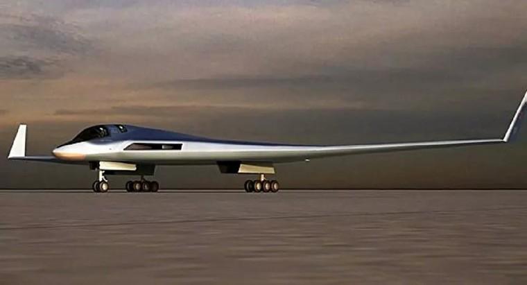Futuro bombardeiro russo PAK-DA