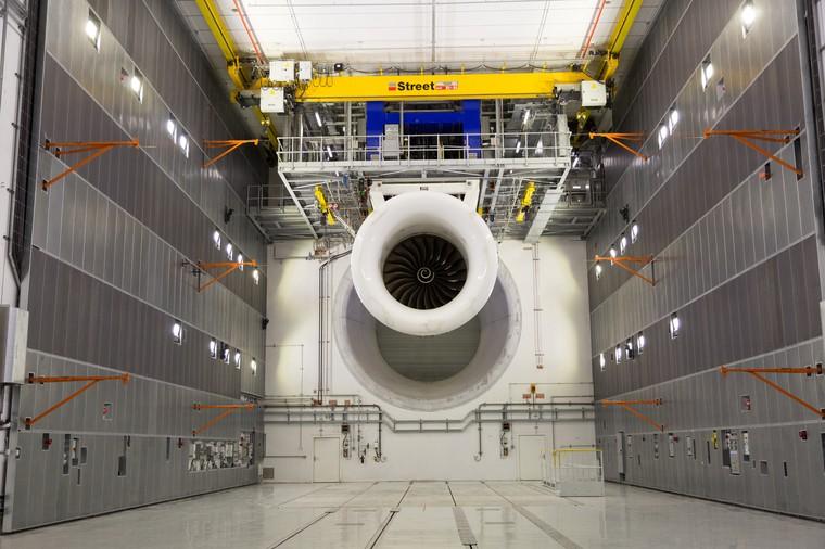 Novo centro de ensaios de motores da Rolls-Royce
