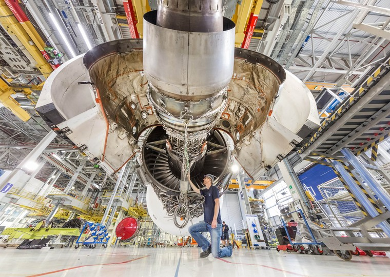 Motor Rolls-Royce Trent