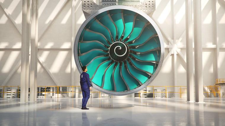 Novo motor UltraFan da Rolls Royce