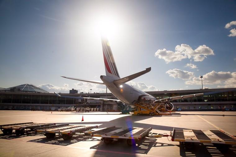 Air France no aeroporto de  Sheremetyevo