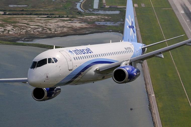 Sukhoi Superjet da Interjet