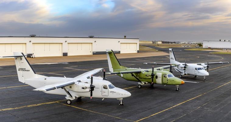 Cessna SkyCourier o novo turbo-hélice da Textron
