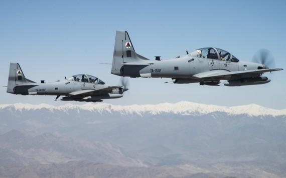 Aviões brasileiros sobre o Afeganistão
