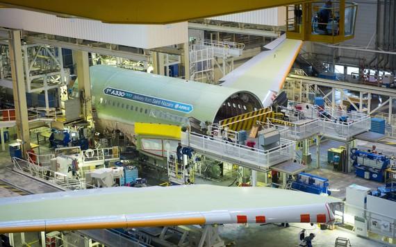 Primeiro A330neo entra em produção