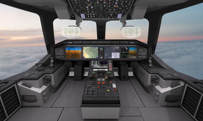 Sistema Pro  Line Fusion  do KC-390