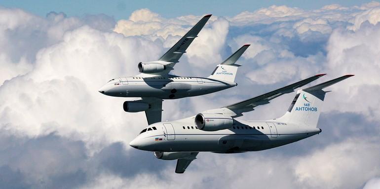 An-148 e An-158 da Antonov