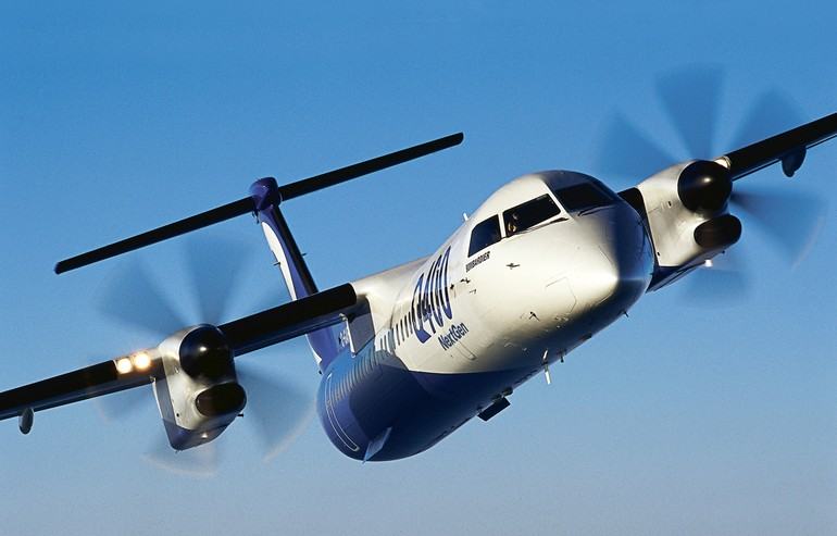 Turbo-hélice Q400
