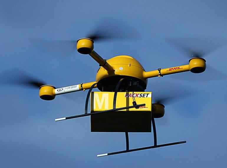 Quadcopter autônomo da DHL