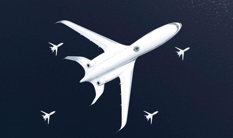 Avião  conceito  da Airbus