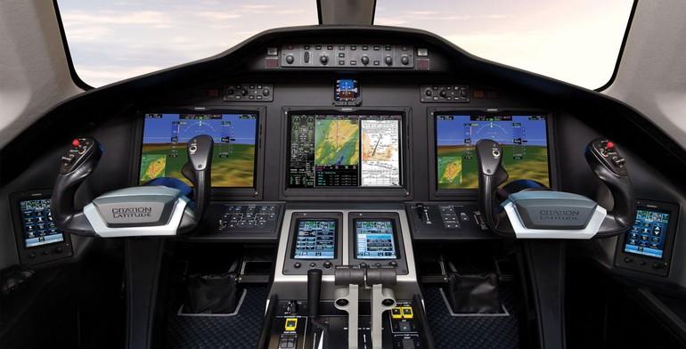 Cockpit Cessna Citation  Latitude