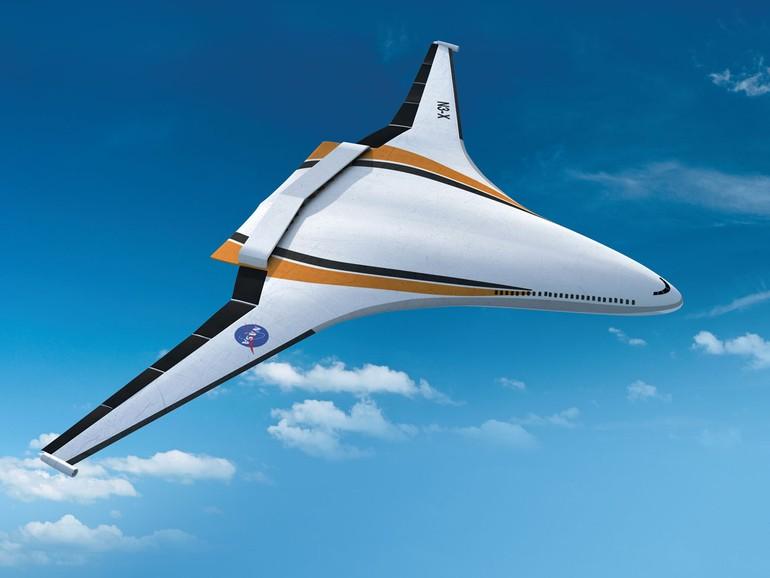 asa-fuselagem  N3-X da Nasa