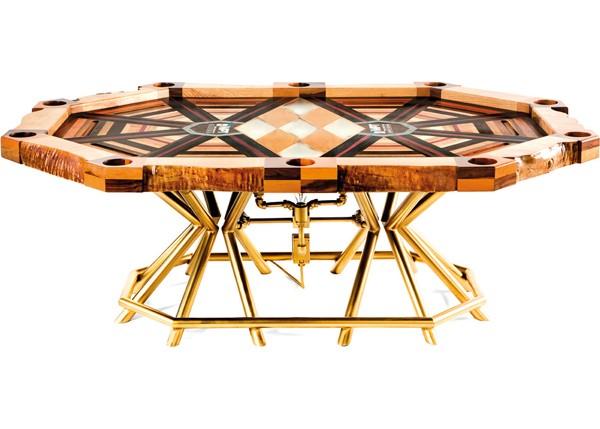 mesa de pôquer