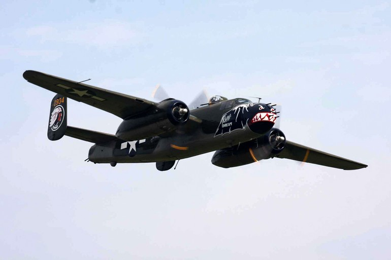 B-25J Mitchell do Texas Flying Legends
