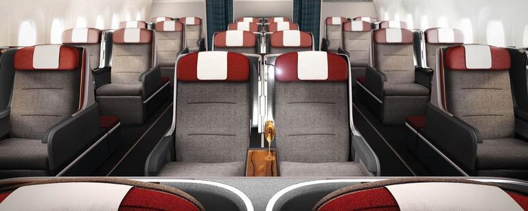 Layout do  novo A350