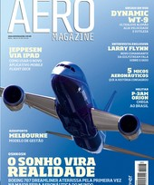 Capa Revista AERO Magazine 208 - Titulo