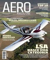 Capa Revista AERO Magazine 209 - Titulo