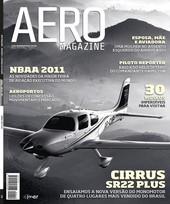 Capa Revista AERO Magazine 210 - Titulo