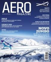 Capa Revista AERO Magazine 212 - Titulo