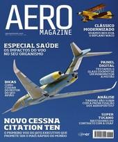 Capa Revista AERO Magazine 213 - Titulo