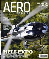 Capa Revista AERO Magazine 214 - Titulo