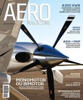 Capa Revista AERO Magazine 217 - Titulo
