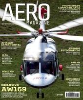 Capa Revista AERO Magazine 218 - Titulo