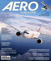 Capa Revista AERO Magazine 223 - Titulo