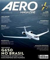Capa Revista AERO Magazine 229 - Titulo