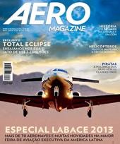 Capa Revista AERO Magazine 231 - Especial Labace 2013