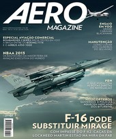 Capa Revista AERO Magazine 234 - F-16 pode substituir Mirage