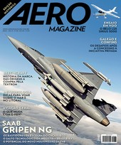 Capa Revista AERO Magazine 236 - Saab Gripen NG