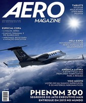 Capa Revista AERO Magazine 238 - Phenom 300