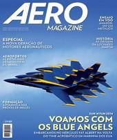 Capa Revista AERO Magazine 239 - Voamos com  os Blue Angels