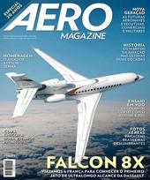 Capa Revista AERO Magazine 240 - Falcon 8X