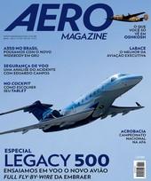 Capa Revista AERO Magazine 244 - Especial Legacy 500