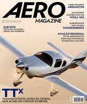 Capa Revista AERO Magazine 245 - TTx