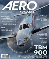 Capa Revista AERO Magazine 246 - TBM 900