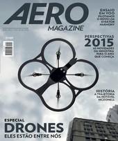 Capa Revista AERO Magazine 248 - Especial Drones