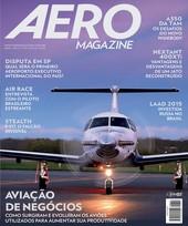 Capa Revista AERO Magazine 251 - Aviação de negócios