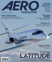 Capa Revista AERO Magazine 257 - Citation Latitude