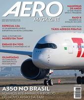Capa Revista AERO Magazine 261 - A350 no Brasil