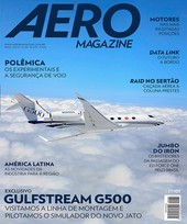 Capa Revista AERO Magazine 263 - Exclusivo Gulfstream G500