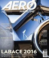 Capa Revista AERO Magazine 267 - Labace 2016